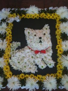 3D Dog Wreath