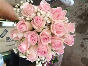 Bridal Bouquet #3 Pretty In Pink