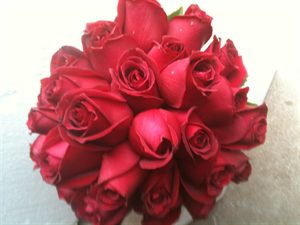 Bridal Bouquet #5 Ruby Rose