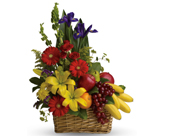 Fruit and Flower Hamper