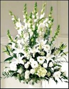Large White Arrangement