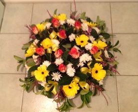 Rose Gerbera Funeral Tribute