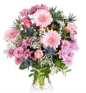 Stunning Pink Vase Arrangement