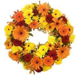 Sympathy Wreath 1