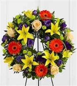 Sympathy Wreath 11