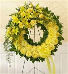Sympathy Wreath 5