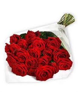 **VALENTINE SPECIAL** Bouquet of 24 Red Roses