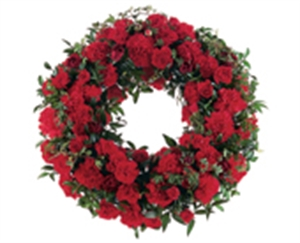 Wreath All red