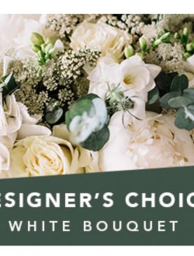 Designer Choice White  Bouquet